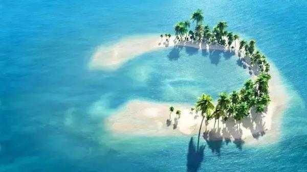 迪拜海岛风景图片