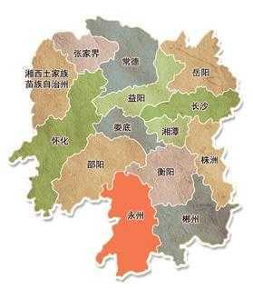 湖南地�_湖南省面积最大的地级市