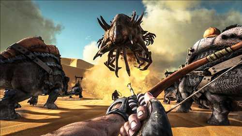 去沙漠抓上古翼龙!《方舟:生存进化》首部dlc上线