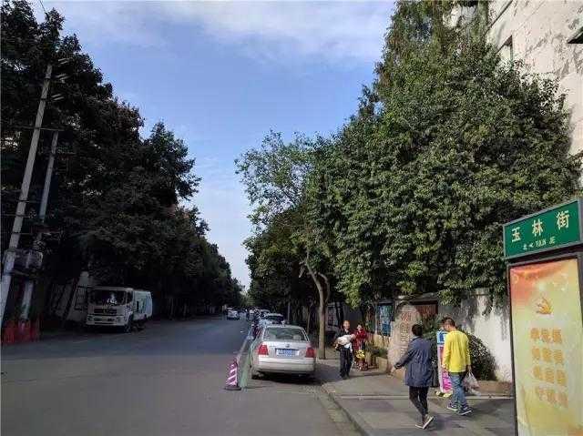 """实际上 玉林小区并没有一条叫""""玉林路""""的街道,只有玉林街.图片"""