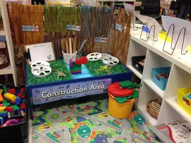 幼儿园的建构区可以这样做