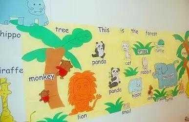 50款唯美的幼儿园主题墙环境布置(圣诞,元旦都不愁了)