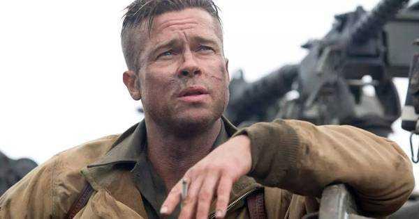 布拉德·皮特在电影《狂怒》中扮演坦克小队队长 don collier