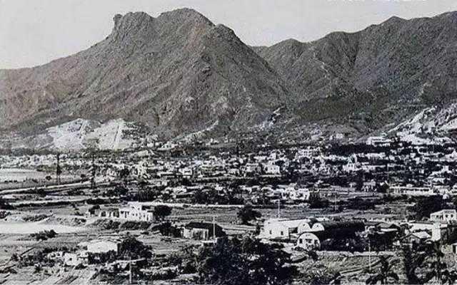 1954年的狮子山下(竹园,钻石山,横头磡,九龙城一带)