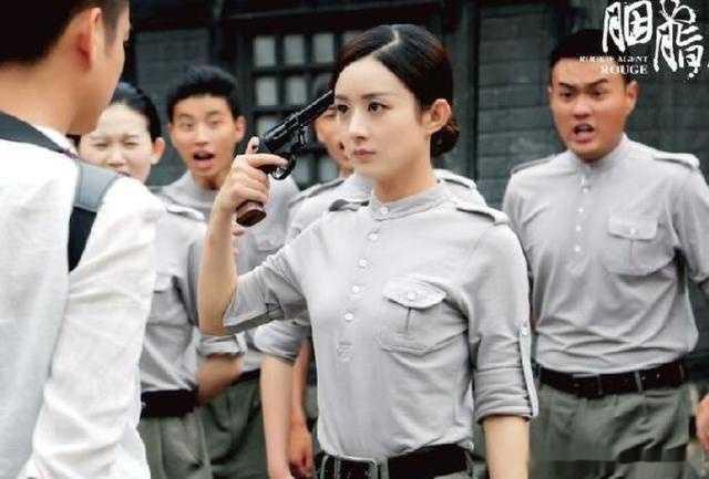 在谍战剧《阳光》中洒落热血襟怀,胭脂饰演的女胭脂蓝良心,这也是5年最有特工电视剧图片