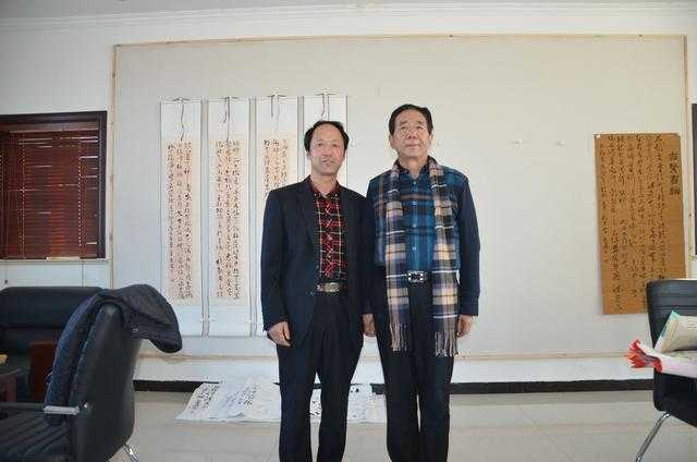甘肃书法家李崇选受邀来北京书法艺术交流(图)图片
