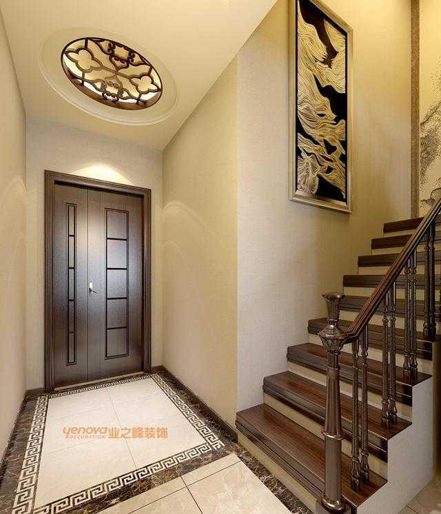 二楼楼梯效果图