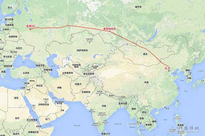 旅行从北京首都机场开始第一次搭乘俄罗斯的西伯利亚航空班机.