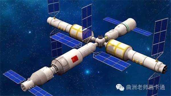 这是中国时隔三年再次进行载人航天发射.