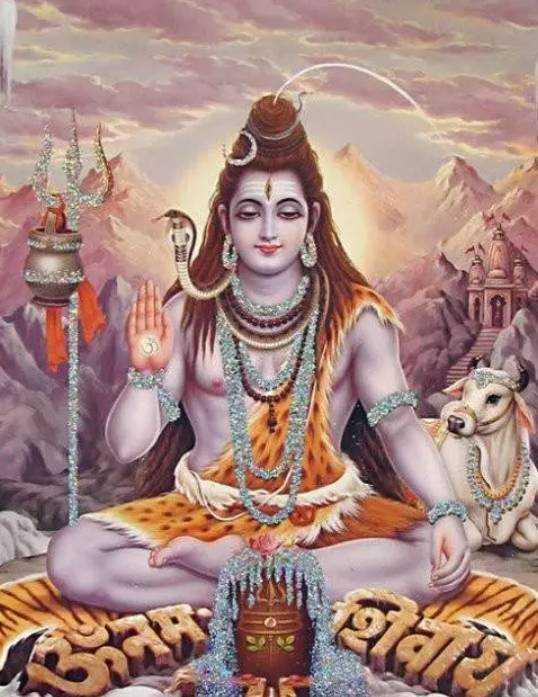 印度教三大主神之一的湿婆的坐骑就是一头叫
