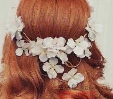 田园新娘编发发型图片大全-好看