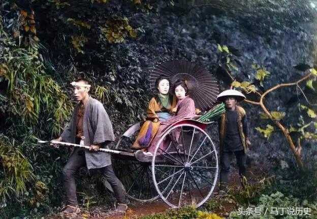 日本姓氏_图解100年前日本贵妇的出行方式,似乎懂了日本人姓氏来源