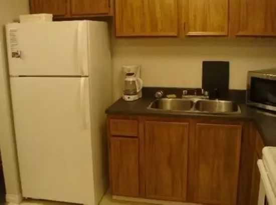 带冰箱橱柜效果图