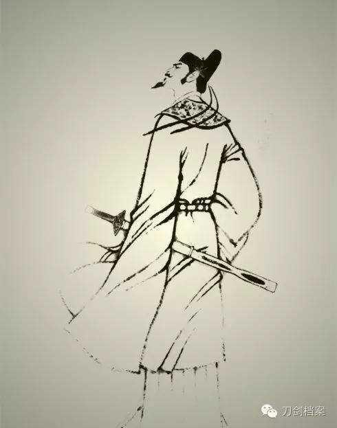 每日兵器:中国古代十大真实剑客盘点,剑术高超可比三少爷!图片