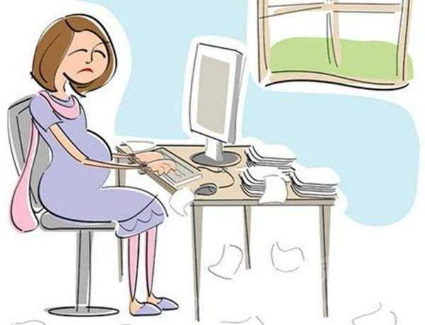 孕妇看电脑对胎儿有影响吗
