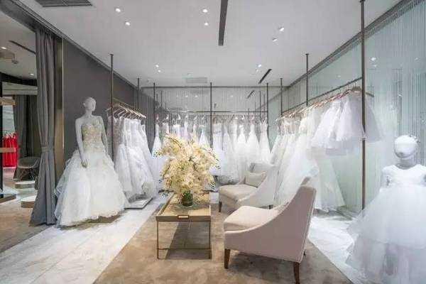 50平米婚纱店装修图片
