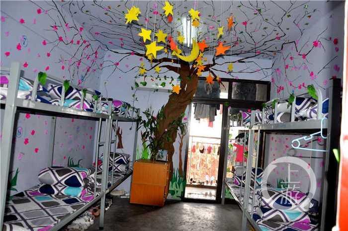奉节职教中心:寝室文化节助推青年学生个性成长