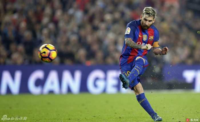 梅西踢皇马狂进21球,c罗追赶势头迅猛,也成巴萨大患.图片