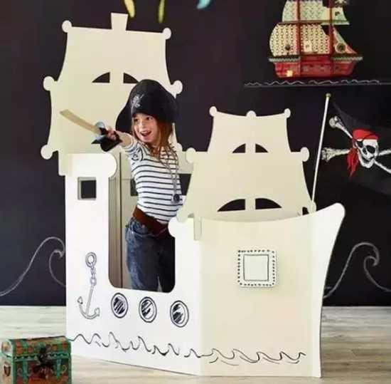 手工纸箱小汽车做法园自制纸箱汽车制作图片
