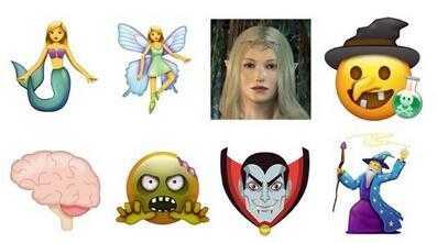 听说,emoji表情包明年要逆天 超60款新货,聊天更魔性图片