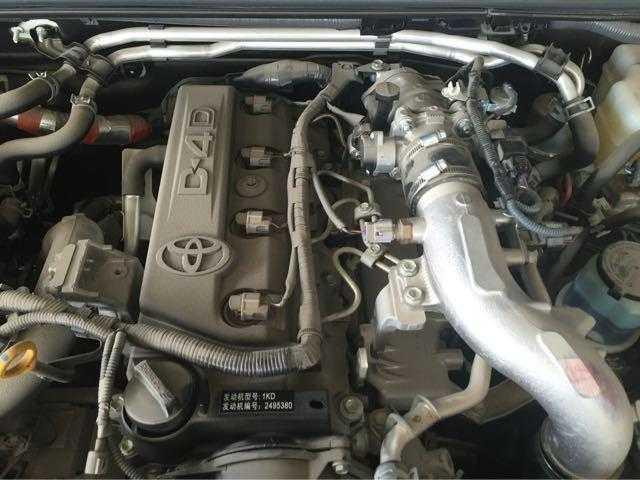 0t丰田的d4d柴油发动机的高压共轨直喷,电控,中冷,涡轮增压等技术,国