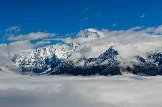 梦幻贡嘎山,最美的自然