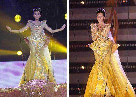 赵丽颖这个造型才是最美的,配上皇冠,更像是女神了.