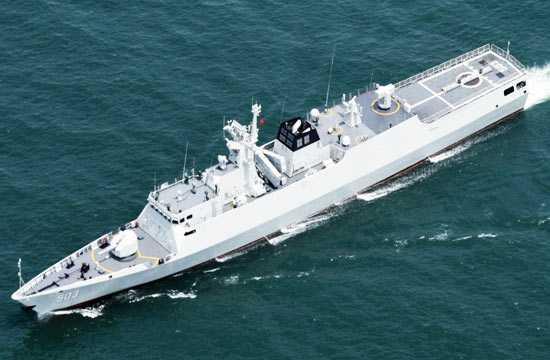 据海军分析人士说,每6周就会有一艘056/056a型