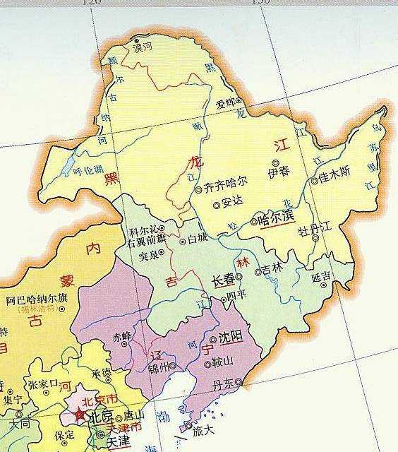 咦,为什么大家习惯把东北三省当做一个整体?
