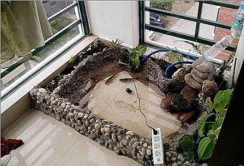 砌水泥鱼池设计图