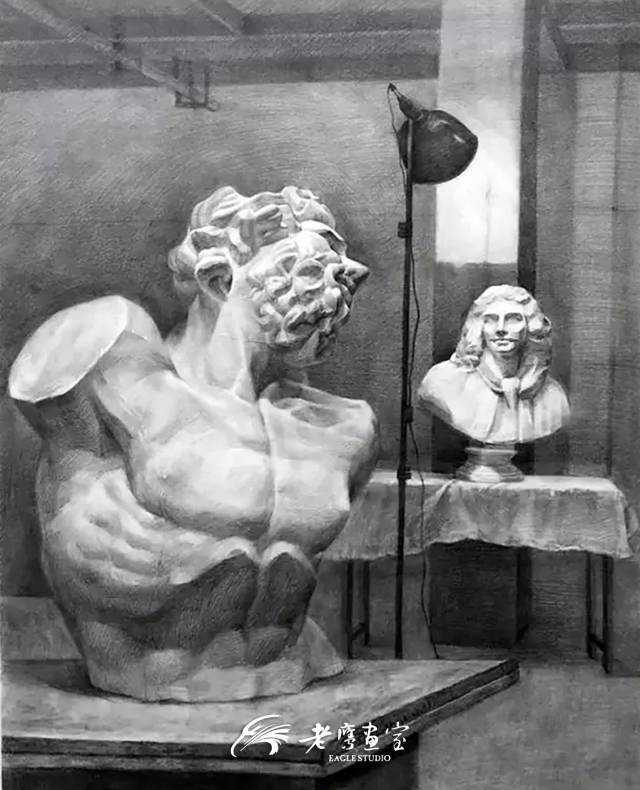 作为一个美术生,你可能爱画画,也可能恨过画画.图片