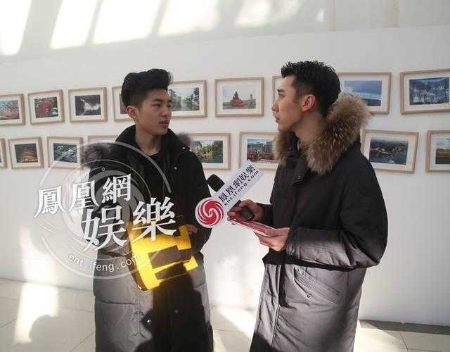 王俊凯现身北电艺考引骚动