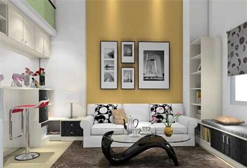 复式单身公寓装修效果图 看别人家现代简约的精品生活图片
