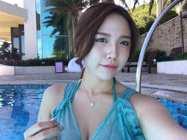 台湾高雄的美女林奈奈在facebook上走红,网友评论呼吸