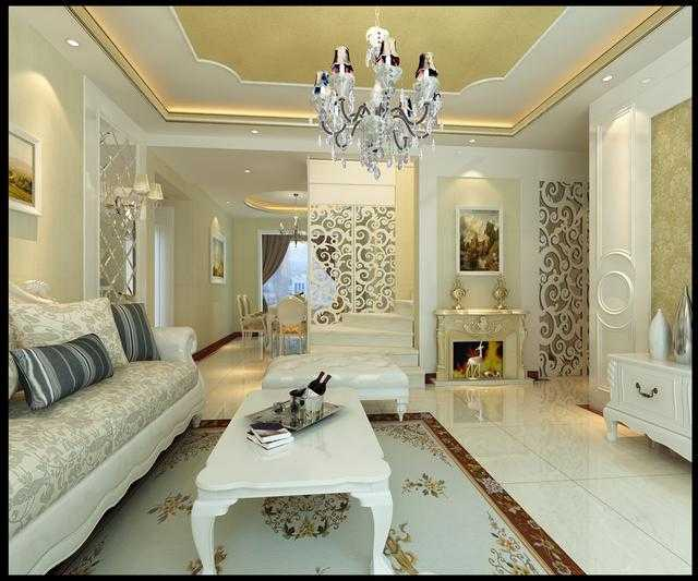 世纪城时尚简约欧式风格装修,舒适自然和谐的家居设计图片