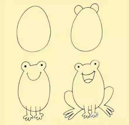 校动前方高能:熊孩子的简笔画p成现实是什么样?