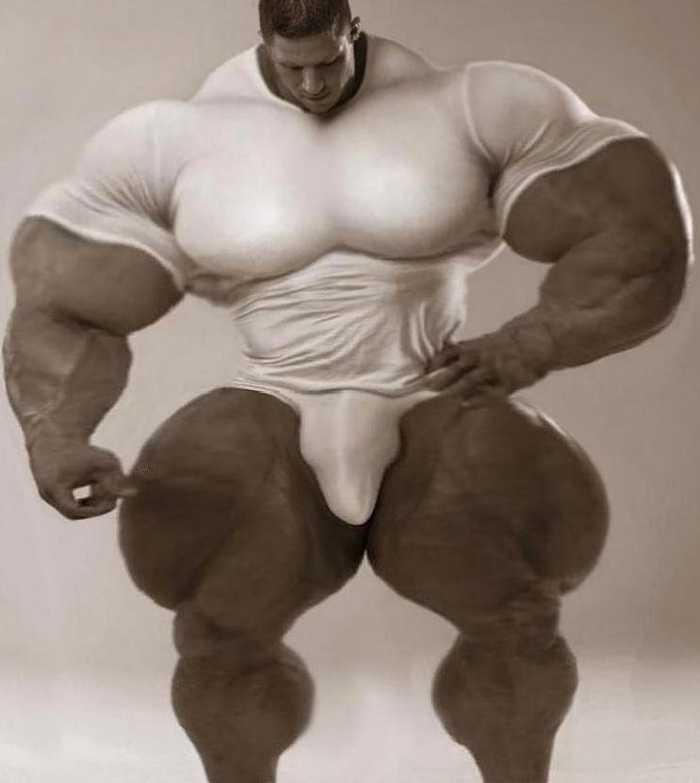 在欧美等国家,男男女女喜欢大块头,要么变的更强壮,要么变得更威猛