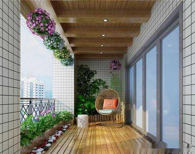 4平米阳台设计装修效果图大全