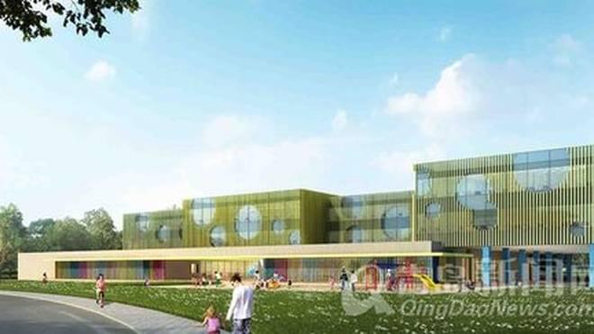 v重点2017青岛即将竣工的十个市级重点大重点难点小学项目图片