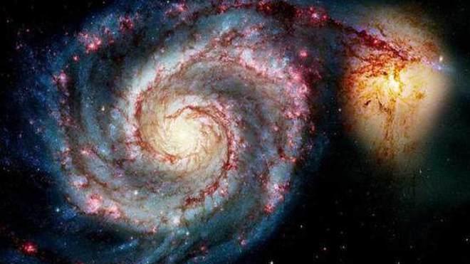 宇宙虽有千万星球但都各行其道,不会轻易发生撞击