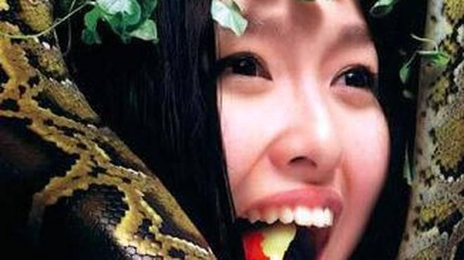 【唐嫣《男人装》比基尼】唐嫣写真照流出,私处仅有树叶遮挡,实在太美了奇葩网 QiPa250.Com