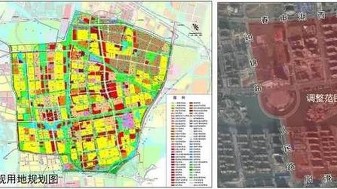 相城活力岛北部用地规划调整 将迎超180米大型集中式商业