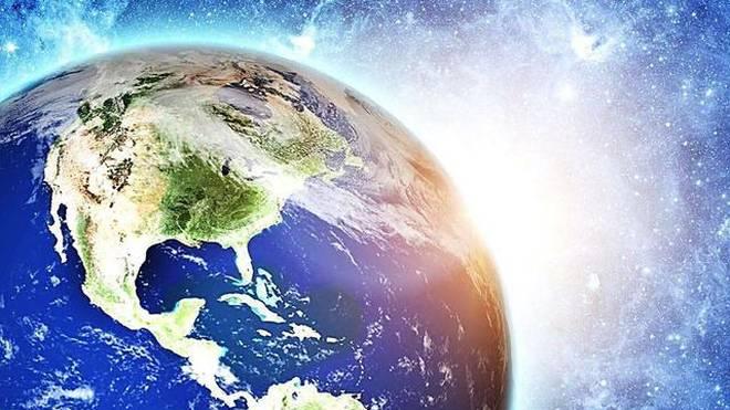 地球古老动物风景图